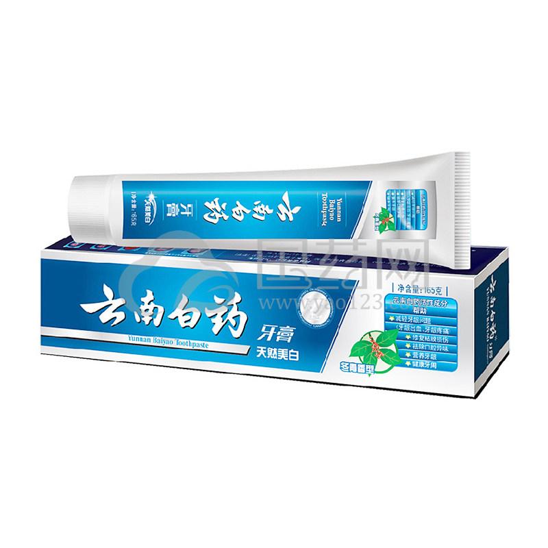 云南白药牙膏冬青香型 165g