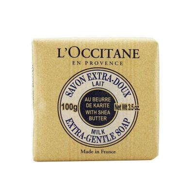 L'OCCITANE 欧舒丹 乳木果牛奶味护肤香皂 100g