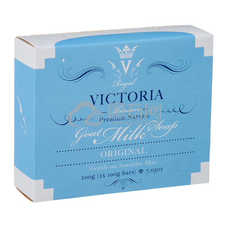 皇家维多利亚天然羊奶皂套装 100g*2