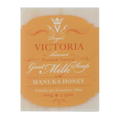 皇家维多利亚麦卢卡蜂蜜羊奶皂 100g