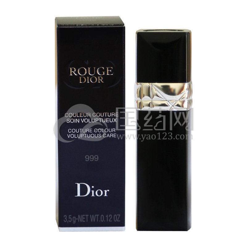 Dior/迪奥 烈艳蓝金唇膏 999#  3.5g