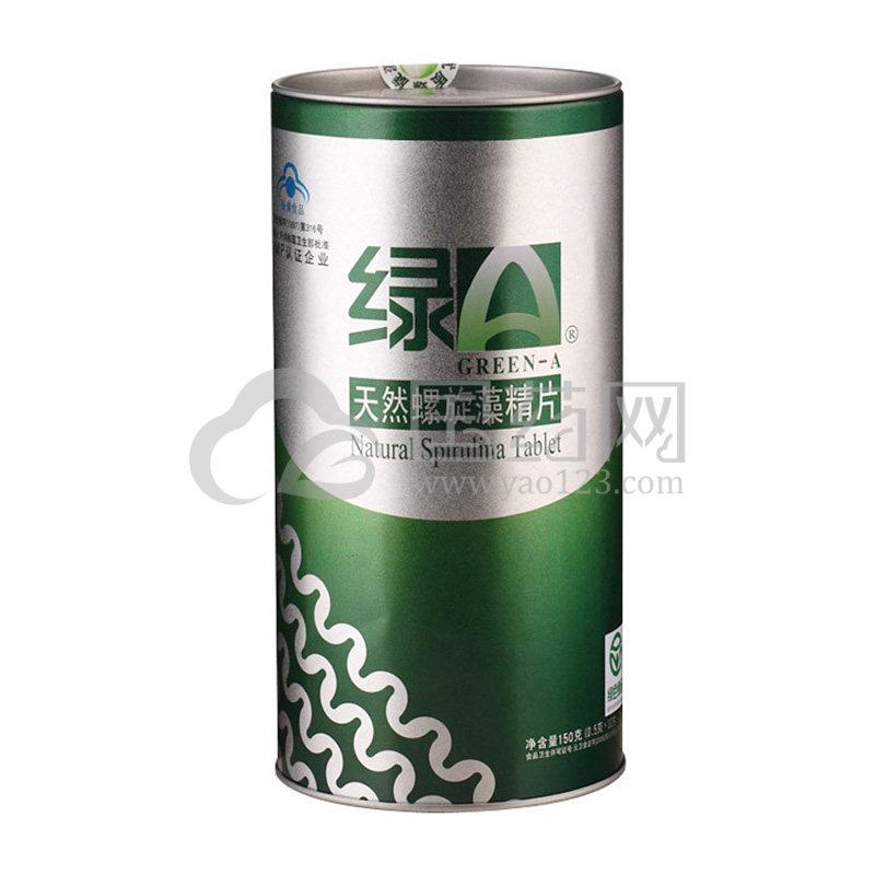 绿A天然螺旋藻精片 150g(0.5g*12片*25袋)