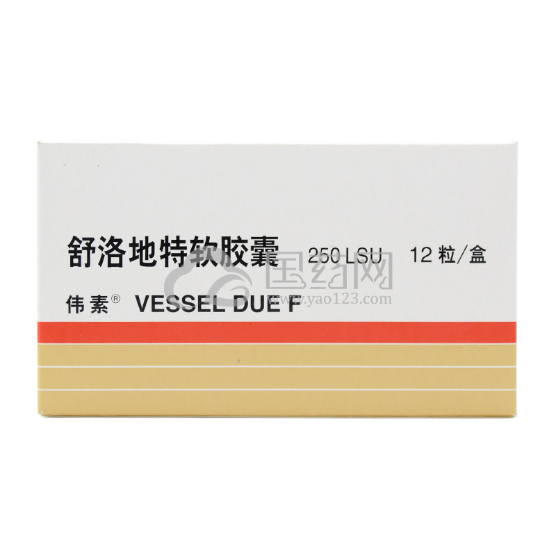 伟素 舒洛地特软胶囊 250LSU*12粒/盒