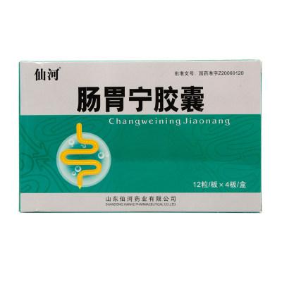 仙河 肠胃宁胶囊 0.3g*12粒*4板/盒