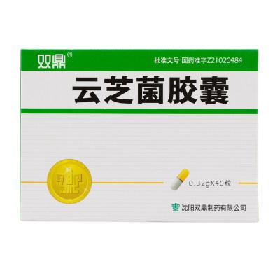 双鼎 云芝菌胶囊 0.32g*40粒/盒