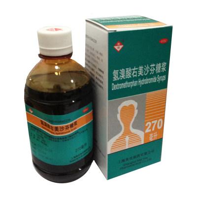 美优 氢溴酸右美沙芬糖浆 270ml