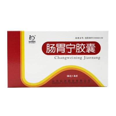 仙河 肠胃宁胶囊 0.3g*24片/盒