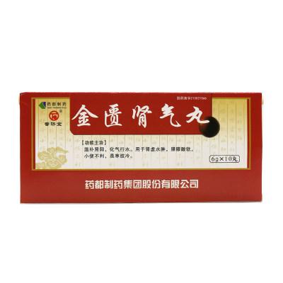普济堂 金匮肾气丸 6g*10丸/盒