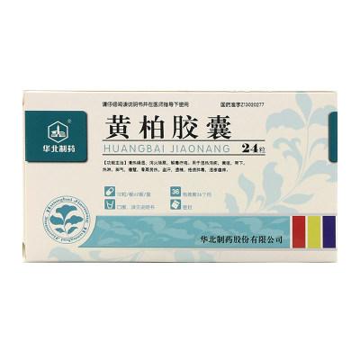 华北制药 黄柏胶囊 1g*24粒/盒