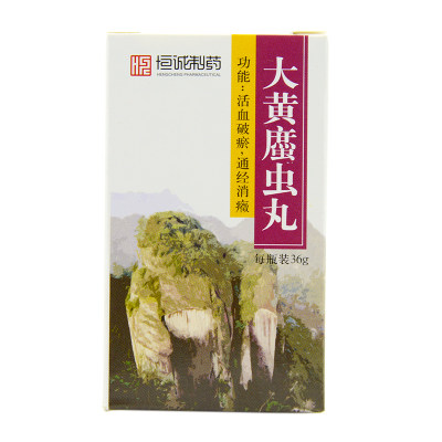 恒诚制药 大黄蛰虫丸 36g*1瓶/盒