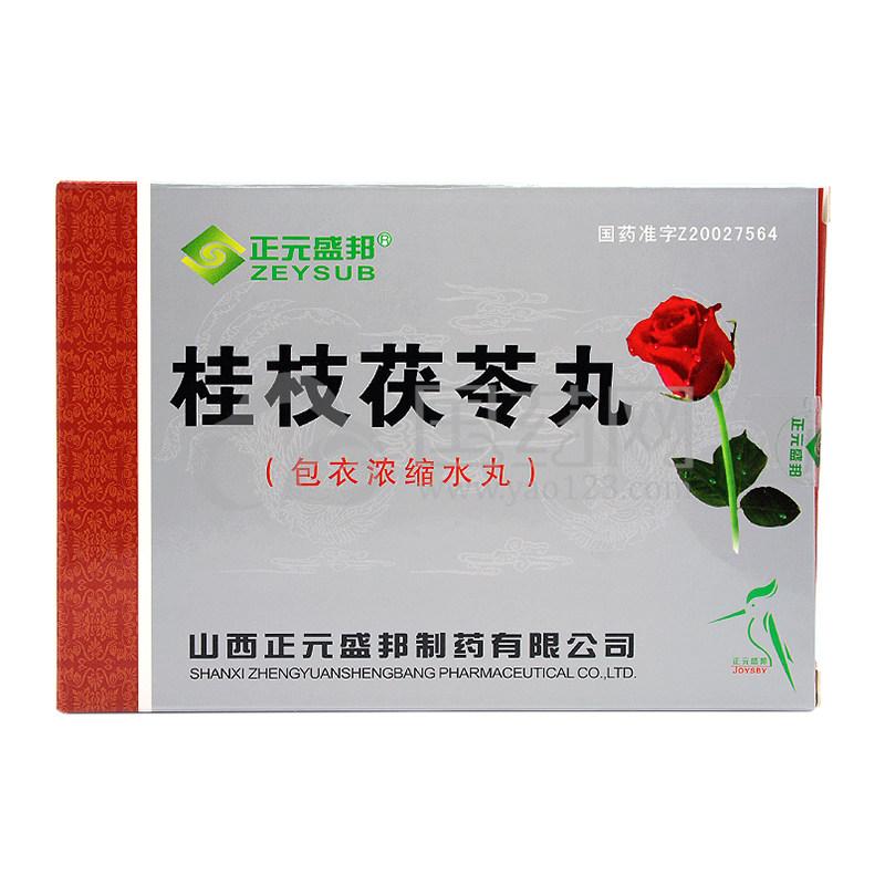 ZEYSUB/正元盛邦 桂枝茯苓丸 45丸*2板/盒