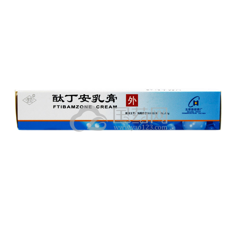 协和 酞丁安乳膏 10g:0.1g*1支/盒