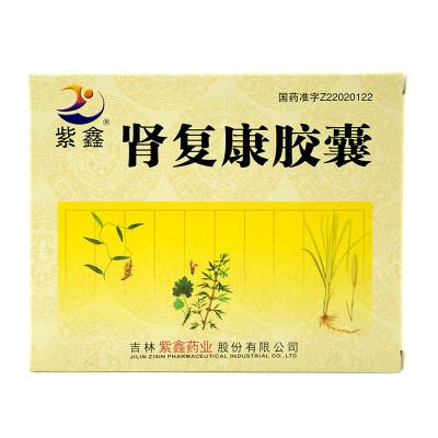 紫鑫 肾复康胶囊 0.3g*48粒/盒