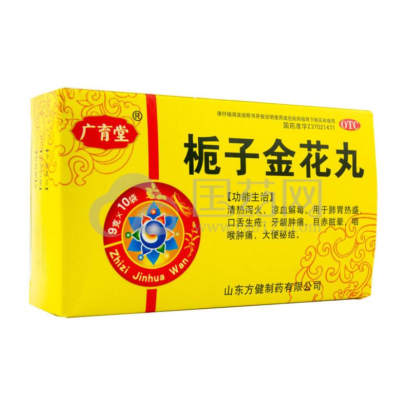 方健 栀子金花丸 9g*10袋