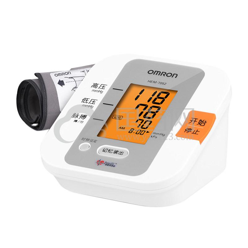 欧姆龙 智能上臂式电子血压计 HEM-7052