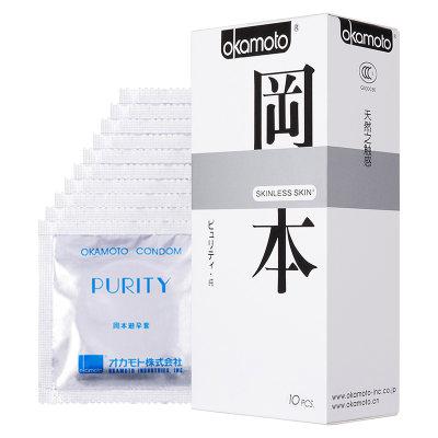冈本 纯味避孕套 10只