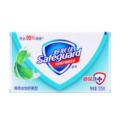 舒肤佳薄荷舒爽型香皂 125g