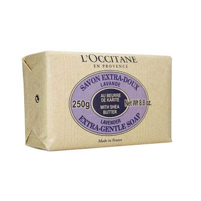 L'OCCITANE 欧舒丹 乳木果薰衣草味护肤香皂 250g