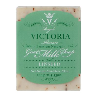 皇家维多利亚亚麻籽羊奶皂 100g