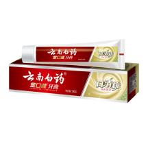 云南白药金口健牙膏 口清新 纯青普洱 130g