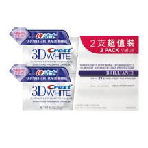 佳洁士 3D钻亮炫白牙膏两支超值装  116g*2支