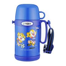 TIGER 虎牌 0.5L儿童不锈钢真空保温保冷杯 MCG-A05C 蓝色