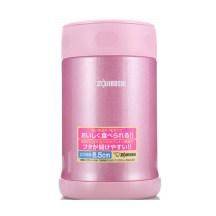 象印焖烧杯SW-EAE50 粉色 不锈钢真空保温桶进口保温饭盒