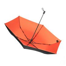 BANANA UNDER超轻随身伞桔梗橙黑胶防晒太阳伞晴雨伞折叠
