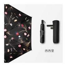 BANANA UNDER蕉下西西里罗萨系列超轻黑胶防晒伞太阳伞晴雨伞折叠(三折款)