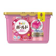 日本宝洁洗衣凝珠(玫瑰)18枚