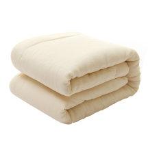 笨笨豆婴儿棉被长绒棉花包布被芯宝宝被子被褥秋冬款内胆110*140