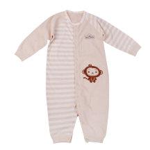 笨笨豆彩棉婴儿睡袋春夏季薄款宝宝分腿睡袋儿童纯棉防踢被