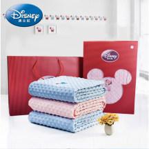 迪士尼宝宝毛毯夏季儿童夏凉毯新生儿盖毯婴儿午睡毯礼盒装140*100