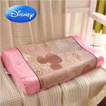 迪士尼冰丝凉席枕儿童枕头学生枕空调房婴童清凉枕宝宝枕慢回弹记忆枕25*40