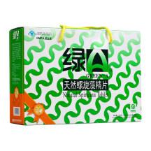 绿A天然螺旋藻精片 300g(0.5g*12T*25袋*2罐)(铁罐礼盒装)