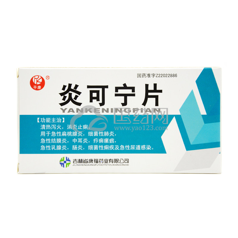 平康 炎可宁片 24片/盒