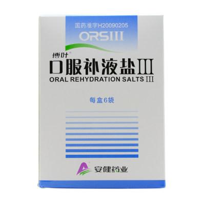 博叶 口服补液盐III 5.125g*6袋/盒