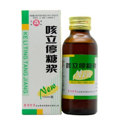 百灵鸟 咳立停糖浆 100ml*1瓶/盒