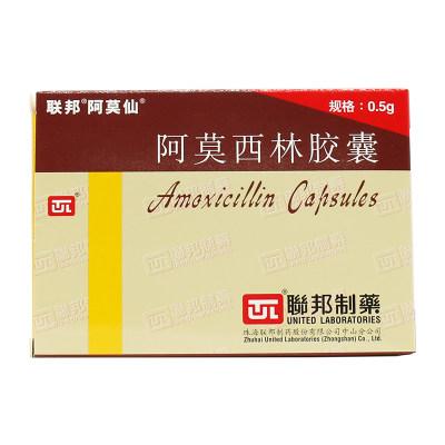阿莫仙 阿莫西林胶囊 0.5g*24粒/盒
