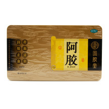 国胶堂 阿胶  250g(金标铁盒)