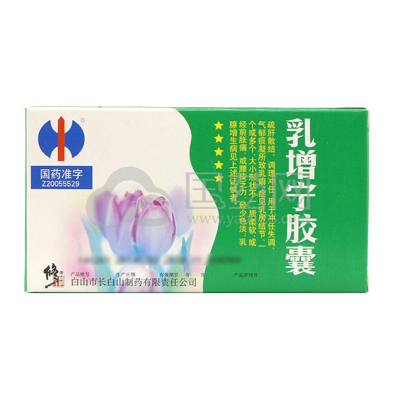 修正 乳增宁胶囊 0.5g*36粒/盒