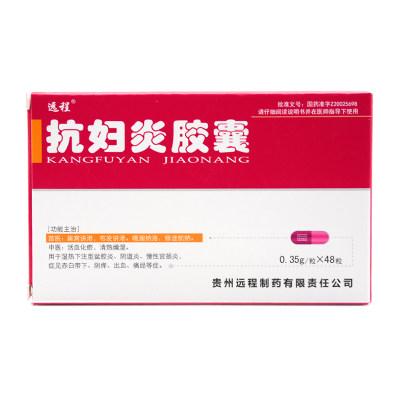 远程 抗妇炎胶囊 0.35g*48粒/盒