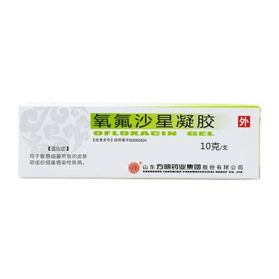 东药 氧氟沙星凝胶 10g*1支/盒