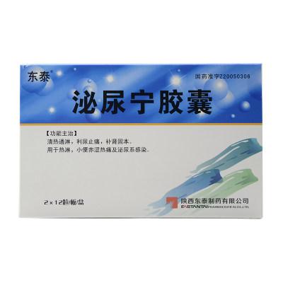 金扬沙 泌尿宁胶囊 0.45g*24粒/盒