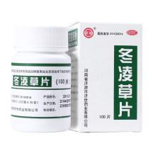 济药 冬凌草片 100s/瓶