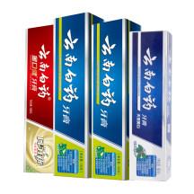 云南白药牙膏组合装 595g ( 薄荷香型 150g/支*2支+纯青普洱 130g /支+冬青香型 165g/支)