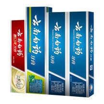 多种口味全家分享】云南白药牙膏( 薄荷香型 210g+留兰香型 180g*2+纯青普洱 130g)
