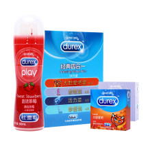 杜蕾斯经典组合 避孕套30只+润滑剂